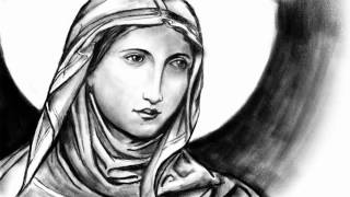 Sketching Saint Brigid of Ireland