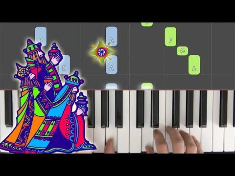 We Three Kings Piano Tutorial