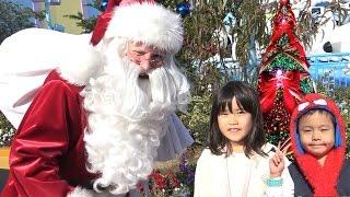 usj クリスマス サンタクロース にプレゼントをお願いしてきたよ こどもとお出かけ family fun theme park universal studios japan
