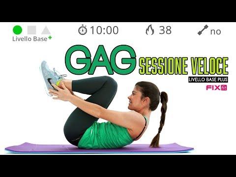 Esercizi Per Cosce, Glutei e Addominali - Allenamento GAG Veloce