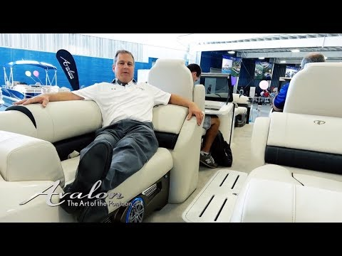 2018 Pontoon Boat SEATING COMFORT | Plush, Oversized Cushions for Luxury Boating | Avalon Pontoons