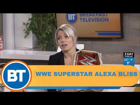 WWE Superstar Alexa Bliss' journey as a woman in wrestling