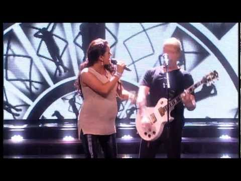 Team Kian perform on The Voice Live Show 4