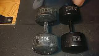 Jim's Gym Reviews: York Legacy Dumbbells!