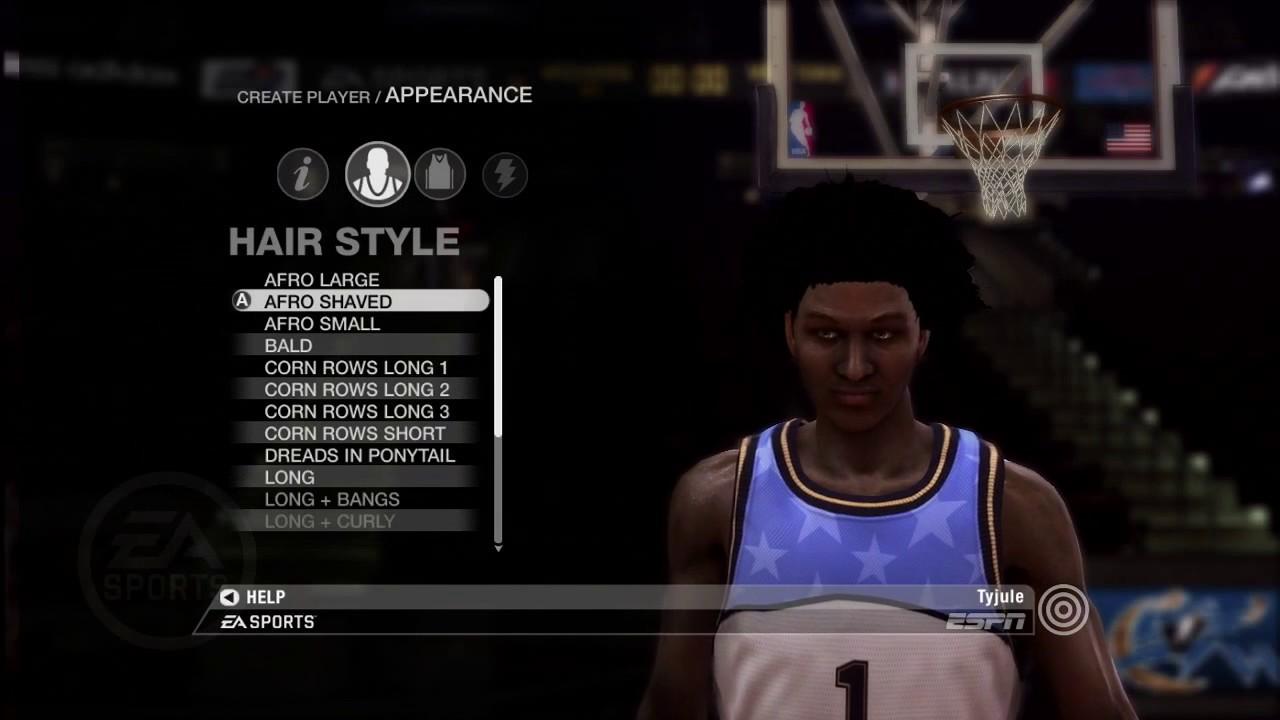 001da1963daa NBA Live 08 Creation Of My Player - YouTube