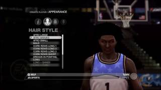 NBA Live 08 Creation Of My Player