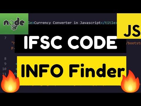 Node.js Express Indian Bank Information Finder By IFSC Code Full Web App Deployed To Website Online