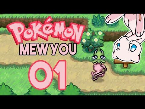 Pokemon Mew You Part 1 WE'RE MEW! Pokemon Fan Game Gameplay Walkthrough