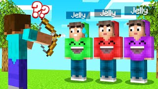 REAL JELLY vs. FAKE JELLY In GUESS WHO! (Minecraft)