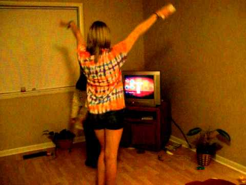 Beast Dancing to the Wii