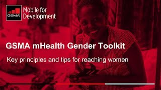 GSMA mHealth Gender Webinar
