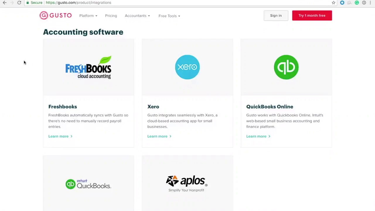 How to Connect QuickBooks Online with Gusto