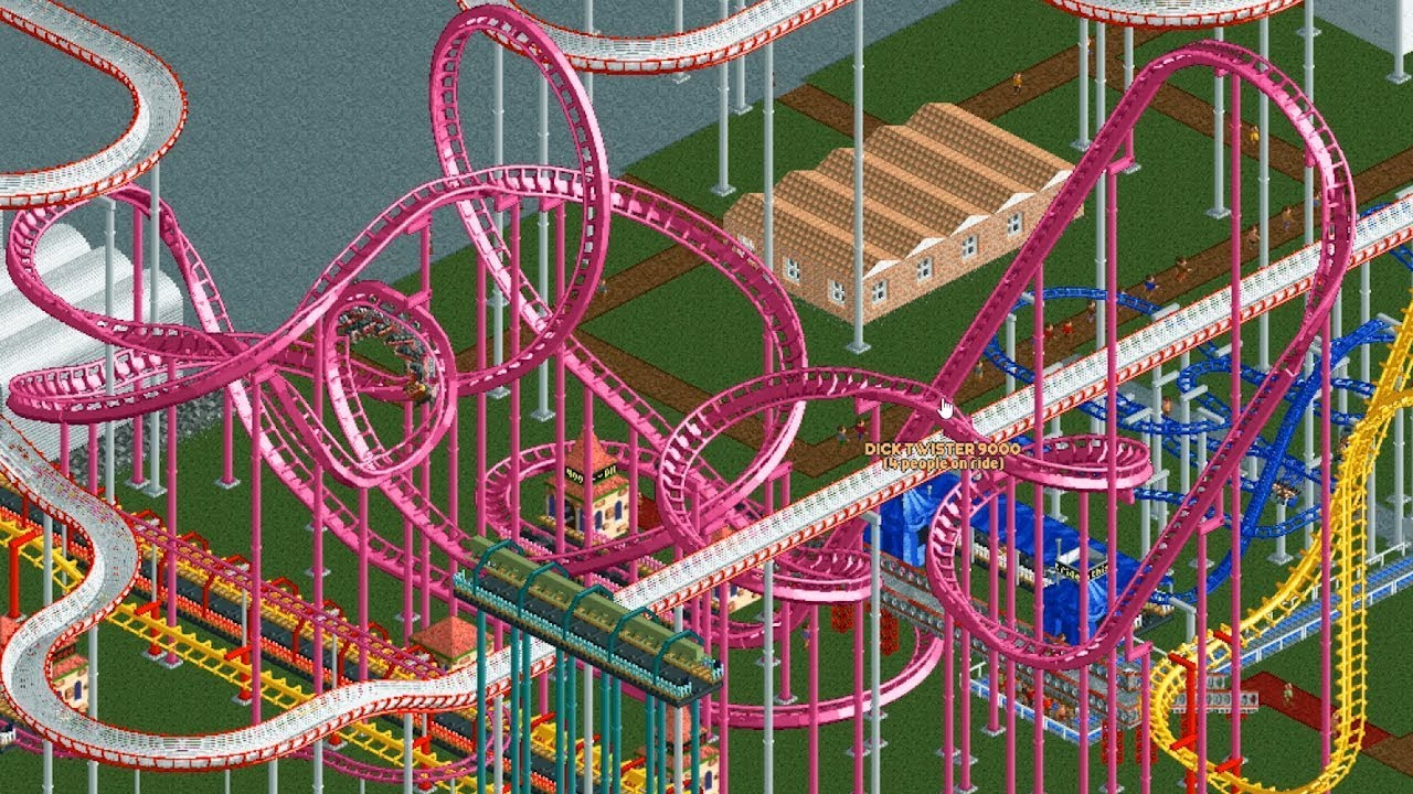 Comunidade Steam :: Vídeo :: RollerCoaster Tycoon with 50 Player