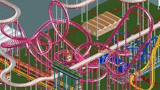 RollerCoaster Tycoon with 50 Player Multiplayer was a terrible mistake