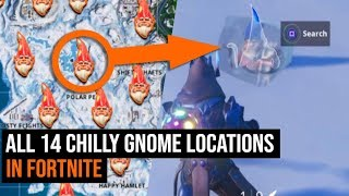 Search Chilly Gnomes Locations Fortnite Week 6 Challenge Guide Season 7