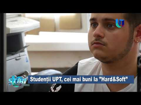 """TeleU: Studenții UPT, cei mai buni la """"Hard&Soft"""""""