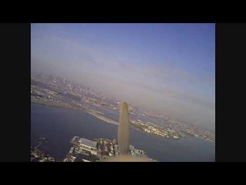 RC Airplane w/ Onboard Video at Golden Field, College Point NY - TWO VIEWS
