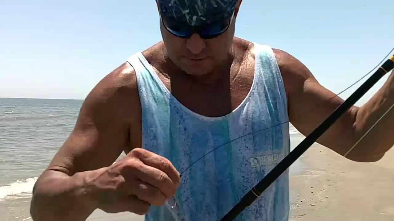 Beach fishing san luis pass tx youtube for San luis pass fishing
