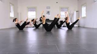 Jazz Floor stretching workout intermediate