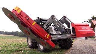 Fliegl Astsäge Hydraulisch WoodKing Classic Agritechnica Neuheit