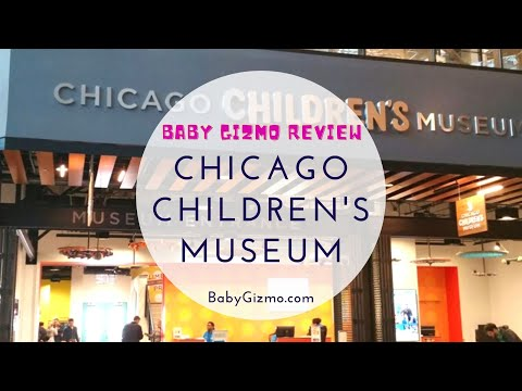 Baby Gizmo Visits the Children's Museum in Chicago