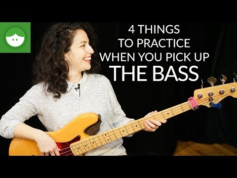4 things you HAVE to practice when you pick up the BASS