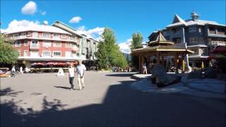 A walk through Whistler Village with gimbal - August 2016