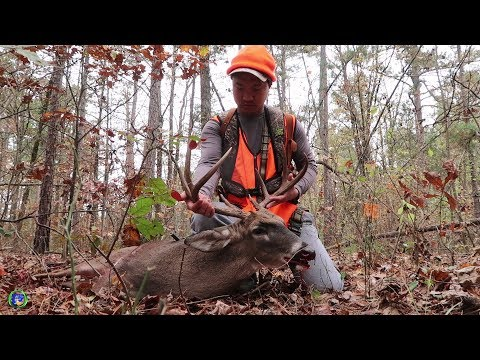 Arkansas Deer Hunting - Opening Day of 2017 Modern Gun Season
