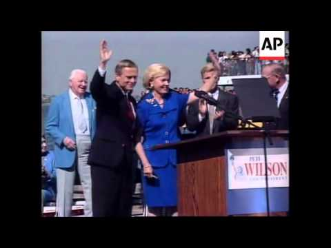 USA: 1996 PRESIDENTIAL ELECTION CAMPAIGN CLAIMS 1ST VICTIM