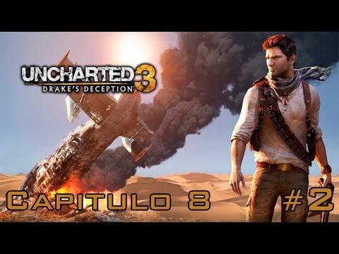 Uncharted 3: La Traicion de Drake Walkthrough - Parte 8 - Español