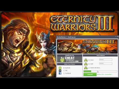 Eternity Warriors 3 Hack Easy And Working Updated 2014