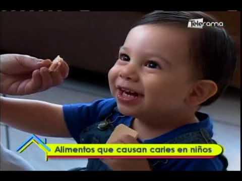 Alimentos que causan caries en niños