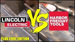 🔥 Harbor Freight Flux Core Wire vs Lincoln Flux Core Wire: Part 1 of 2