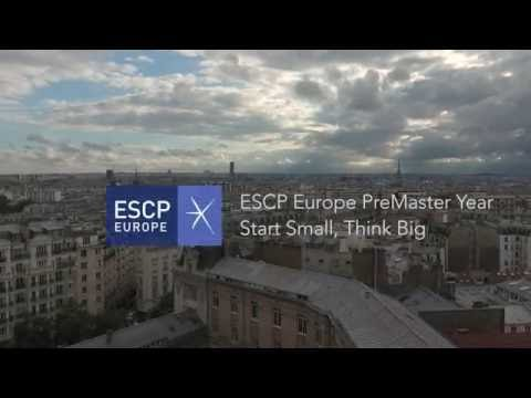 ESCP Europe Pre-Master year: Start small, Think big
