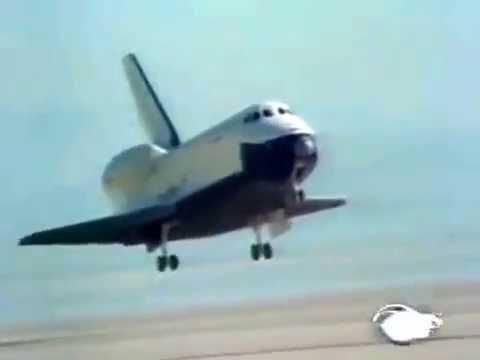 Space Shuttle Enterprise - Free flight Test - ABC News - 8/12/1977