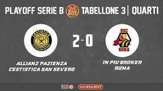 Quarti di Finale Playoff Serie B - Tabellone 3
