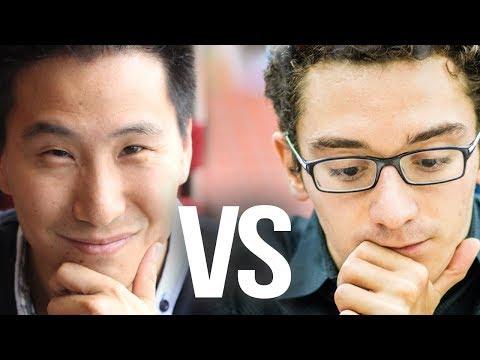 Fabiano Caruana vs FM Lefong Hua BULLET match