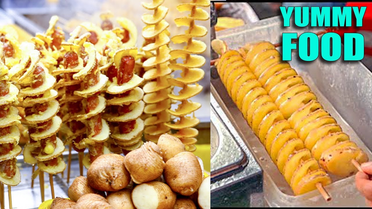 Amazing Street Food Compilation, Asian Street Food, Fast Food Street in  Asia #294