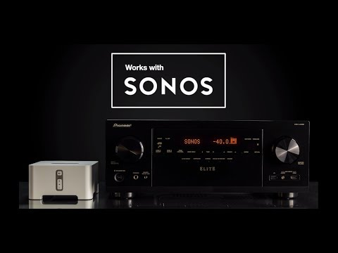 How to hook up sonos connect to receiver