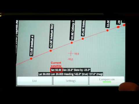 aplicativo para celular localizador de satelite