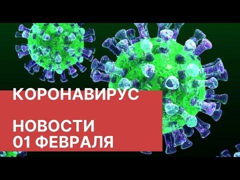Коронавирус. Последние новости 1 февраля (01.02.2020). Распространение вируса из Китая