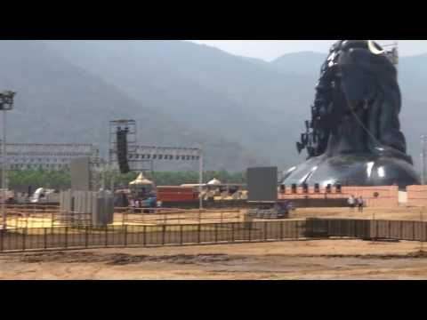 Coimbatore Isha 112 Feet Statute - In & Out Report