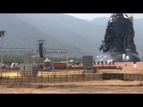 Coimbatore Isha 112 Feet Statute - In & Out Report