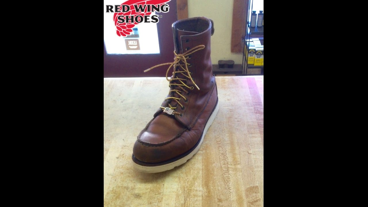 red wing sole replacement