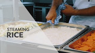 Recipe: Steaming rice in the RATIONAL SelfCookingCenter
