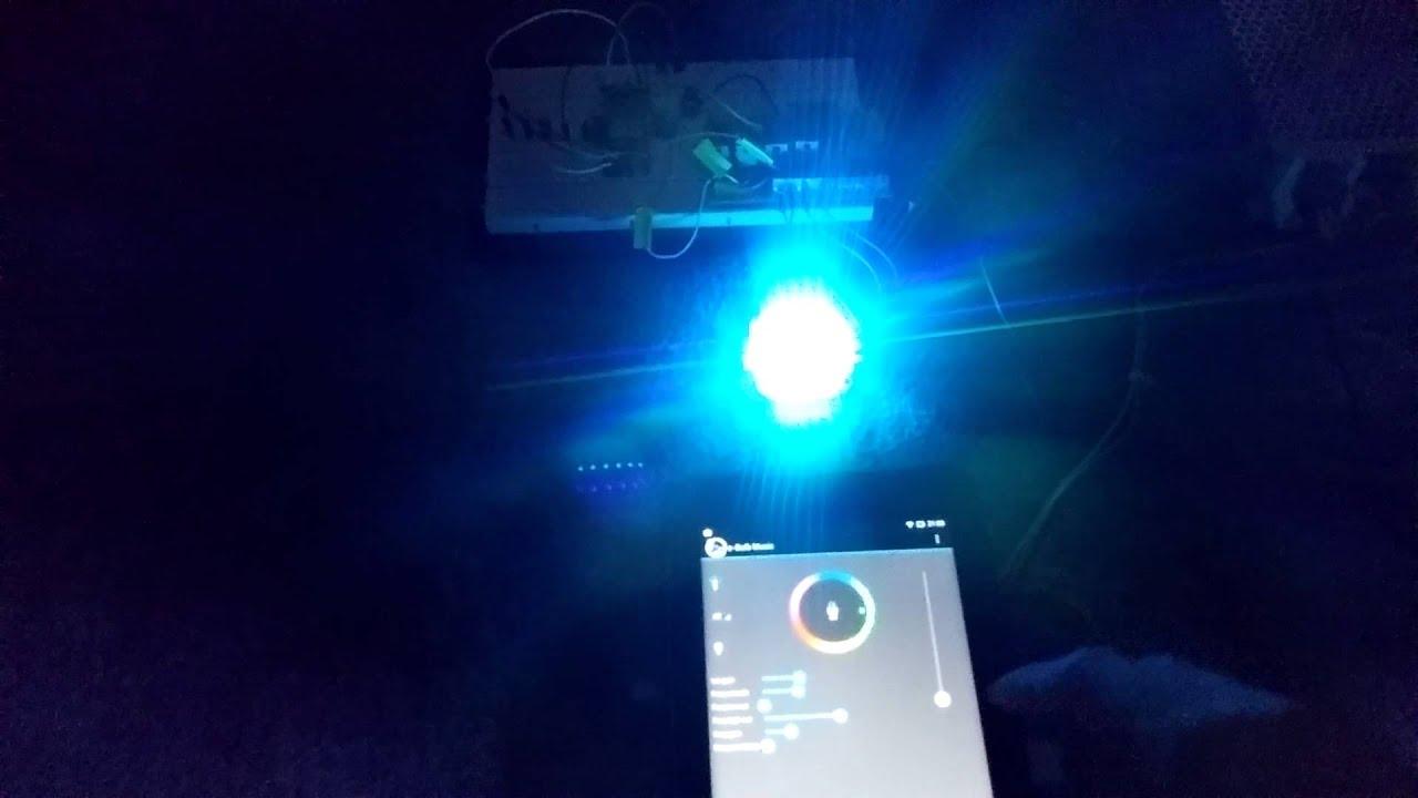 20w Os Rgb Led Youtube Colorchanging Light Bulb Par38 02
