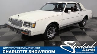 1986 Buick Regal Limited for sale | 4753-CHA