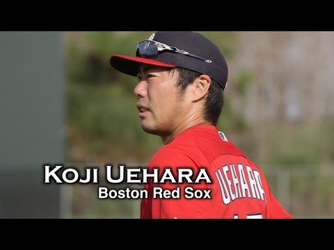Press Box : Boston Red Sox Koji Uehara talks about the new season.