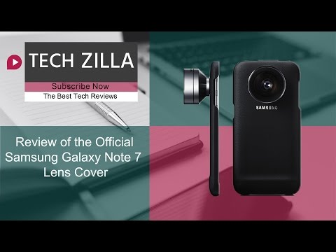 Official Samsung Galaxy Note 7 Lens Cover Review