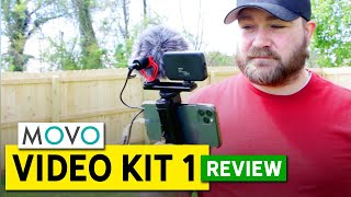 The BEST Mobile Vlog Setup - MOVO Video Kit 1: REVIEW